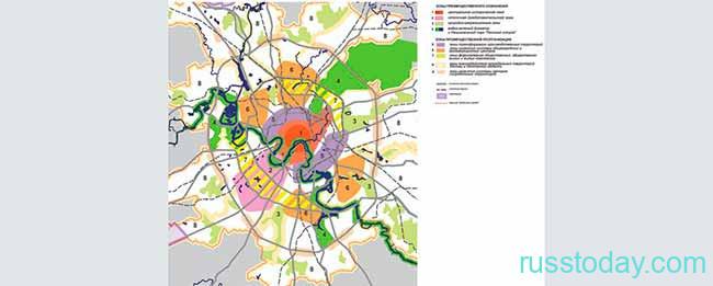 Новый проект границ Москвы