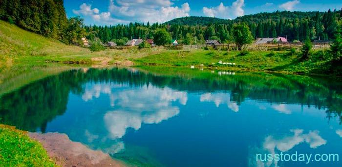 Осень 2021 года в Башкирии