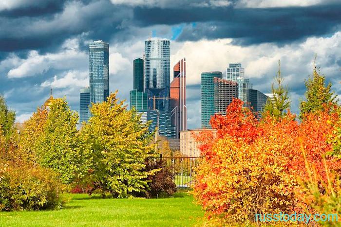 Осень 2021 года в Москве