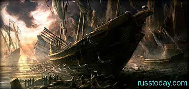 Золотые насечки: морские легенды