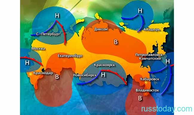 Погода в Урале осенью